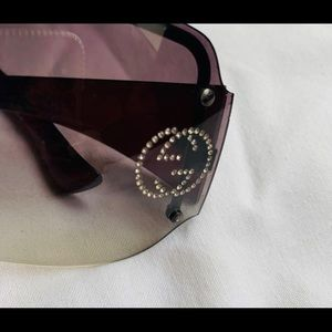 Gucci sunglasses with crystals